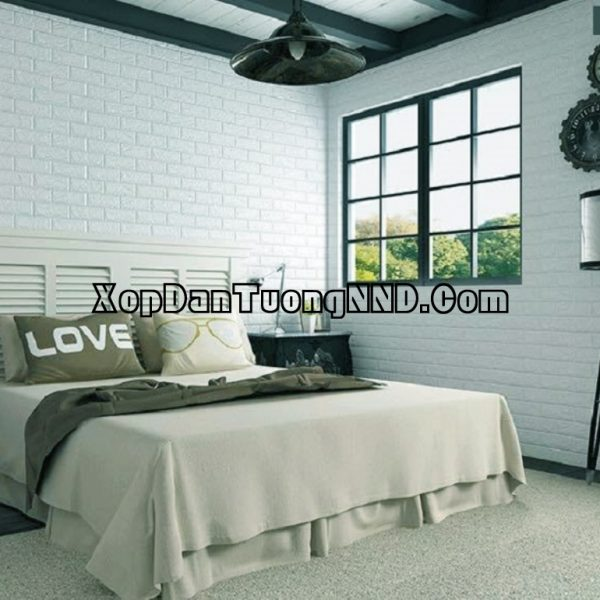 Xốp dán tường là sản phẩm phổ thông nhất và cũng là loại xốp dán tường có giá thành rẻ nhất