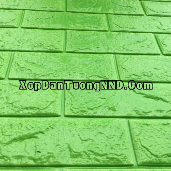 Xốp dán tường giả gạch xanh nõn chuối mã GG05