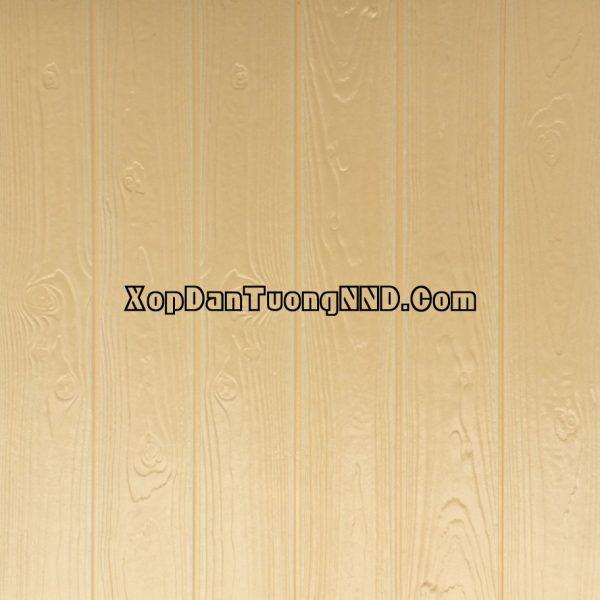 Xốp dán tường giả gỗ vàng mã VG03