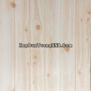 Xốp dán tường vân gỗ 3D màu trắng thanh lịch