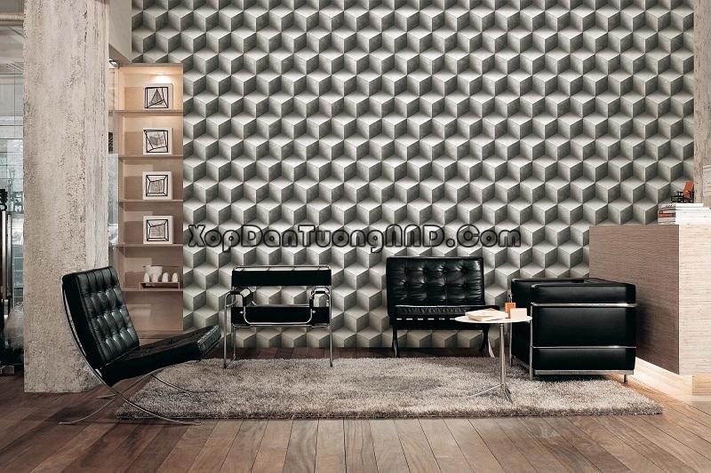 Phá cách không gian sống với giấy dán tường 3D