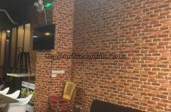 Giấy dán tường giả gạch đỏ Hàn Quốc mã H6033-2