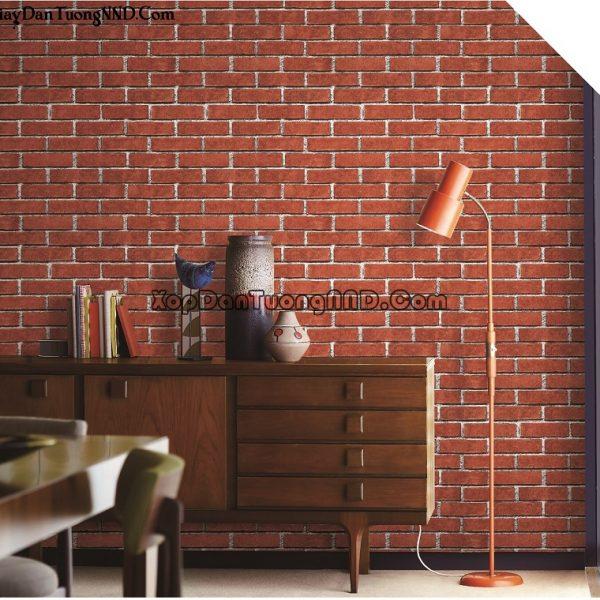 Giấy dán tường gạch 3D Ý