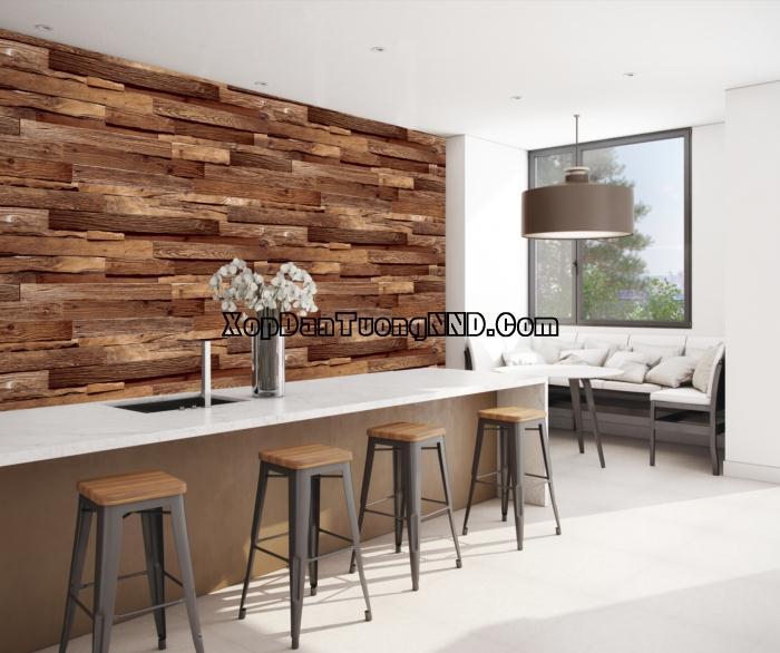 Giấy dán tường giả gỗ có tính thẩm mỹ cao