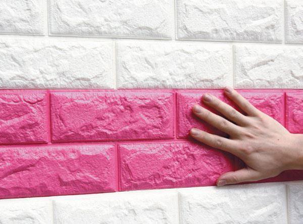 Xốp dán tường giả gỗ đẹp cho chung cư