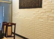 Xốp dán tường giả gạch giúp cách âm, cách nhiệt cho không gian