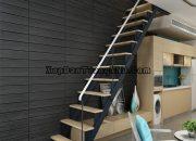 Xốp dán tường cho cầu thang