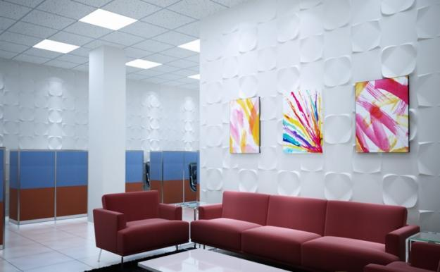 Xốp dán tường 3D rất được lòng nhiều khách hàng