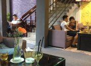 Mẫu xốp dán tường cho quán cafe tại Huế