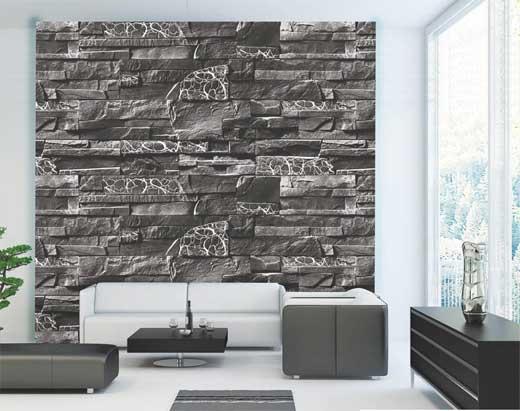 Mẫu xốp dán tường vân đá