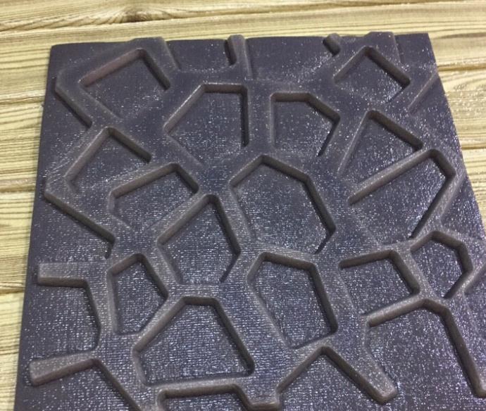 Mẫu xốp ốp dán tường 3D họa tiết nổi mới lạ