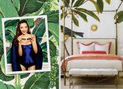 Phòng ngủ lá chuối phong cách Tropica