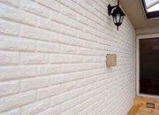 Không gian ngoại thất thu hút với xốp dán tường