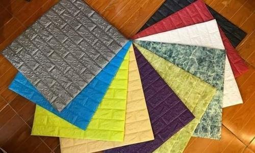 Mẫu xốp dán tường giả gạch với nhiều màu sắc khác nhau