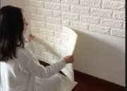 Tự tay dán xốp lên tường không còn là công việc khó khăn
