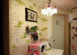 Xốp dán tường giả gạch mang lại hiệu quả chống thấm cao